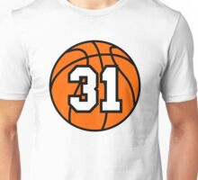 Basketball 31 Unisex T-Shirt