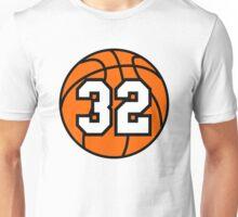 Basketball 32 Unisex T-Shirt