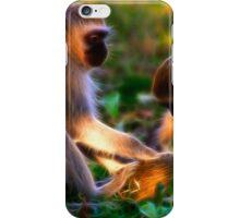Vervet Monkeys at Play iPhone Case/Skin