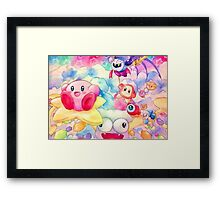 To the Milky Way Framed Print