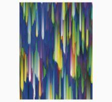 Colorful digital art splashing One Piece - Long Sleeve