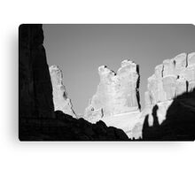 Arches NP I BW Canvas Print