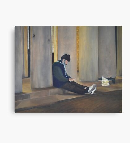 Homeless 2.0 Canvas Print