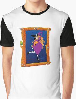 Witch Portrait Graphic T-Shirt