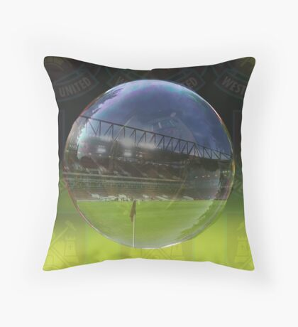 west ham Throw Pillow