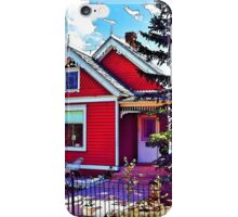 Little Red House iPhone Case/Skin