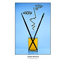 Cocktails with Picasso - Titled print Photographic Print