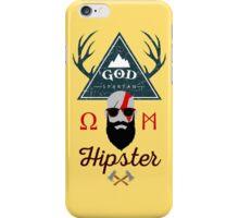 God Spartan Hipster iPhone Case/Skin