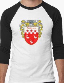 Patterson Coat of Arms / Patterson Family Crest Men's Baseball ¾ T-Shirt