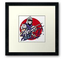Shredder Framed Print