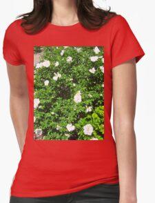 White Rose Bush T-Shirt