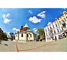 Gniezno City and Royal Cathedral, Poland Photographic Print