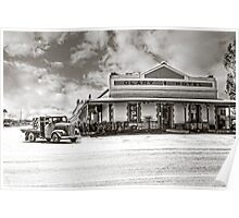 Olary Hotel, Barrier Highway, South Austraia Poster