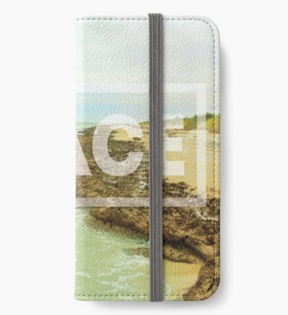 Peace Beach iPhone Wallet/Case/Skin