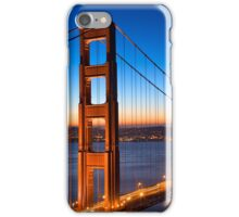 Golden Gate Dawn Bridge iPhone Case/Skin