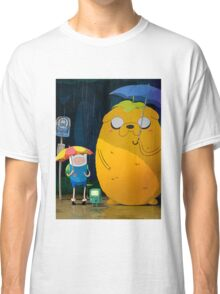 adventure time totoro and finn Classic T-Shirt