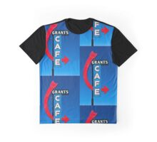 Grants Cafe - Print Graphic T-Shirt
