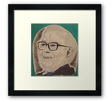 The most successful investor in the world. Framed Print