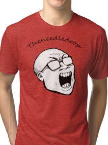 Theneedledrop Tshirt Tri-blend T-Shirt