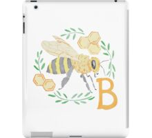 B is for Bumble Bee iPad Case/Skin
