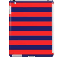 Blue & Red Navy Magic Stripes Summer Design Set iPad Case/Skin