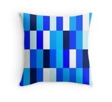 Beautiful Nice blue Fashion Pattern Illustration Throw Pillow