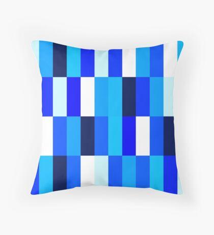 Beautiful Nice blue Fashion Pattern Illustration Throw Pillow