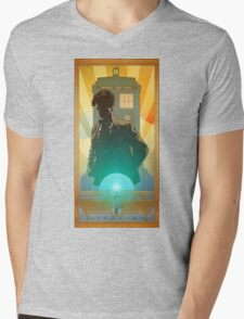 Doctor Who GERONIMO! Mens V-Neck T-Shirt