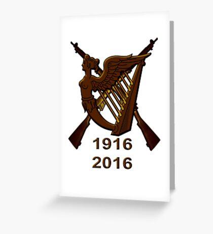 1916 Irish republic 2016  Greeting Card