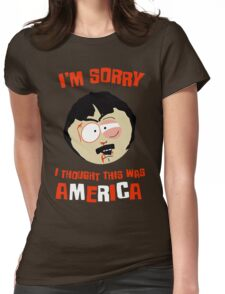 I'm sorry, i thought this was America Womens Fitted T-Shirt