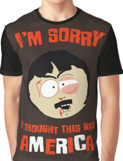 I'm sorry, i thought this was America Graphic T-Shirt