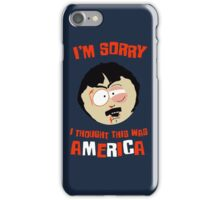 I'm sorry, i tought this was America iPhone Case/Skin
