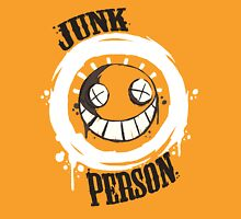 Junk Person 02  Womens Fitted T-Shirt