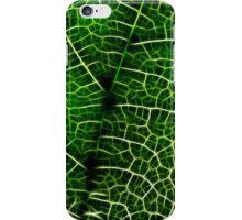 Green Leaf Macro iPhone Case/Skin