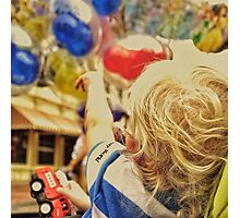 """Look, Papa! Balloons!!"" Photographic Print"