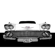 1958 Chevy Impala Photographic Print