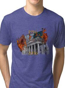 Dublin GPO 1916-2016 Tri-blend T-Shirt