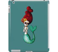 El Dia de Los Muertos Mermaid iPad Case/Skin