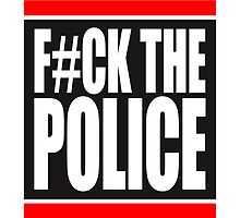 Fuck The Police Logo by Style-O-Mat