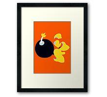 Bomb Man Framed Print