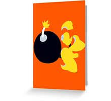 Bomb Man Greeting Card