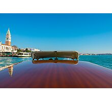 Taxi boat Photographic Print