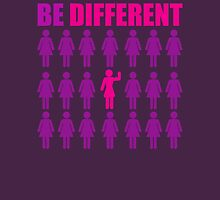 Be Different (Strong Girl) Womens Fitted T-Shirt