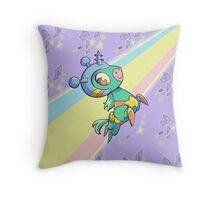 Space Unicorn Throw Pillow