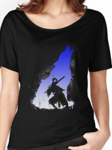 The walker of abyss VERSION WHITE/BLU Women's Relaxed Fit T-Shirt