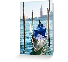 Gondola Greeting Card