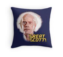 Great Scott! Throw Pillow