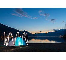Tent Photographic Print