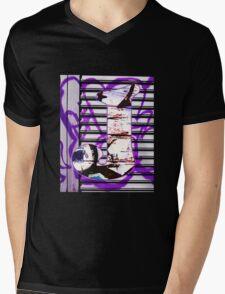Urban Alphabet J Mens V-Neck T-Shirt