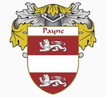 Payne Coat of Arms / Payne Family Crest One Piece - Long Sleeve